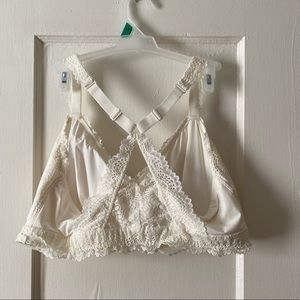 Auden Intimates & Sleepwear - Ivory Lace Bralette